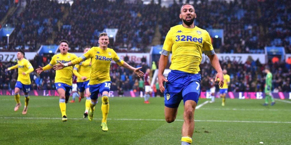 Leeds de Bielsa ganó en la agonía tras una heroica remontada ante Aston Villa