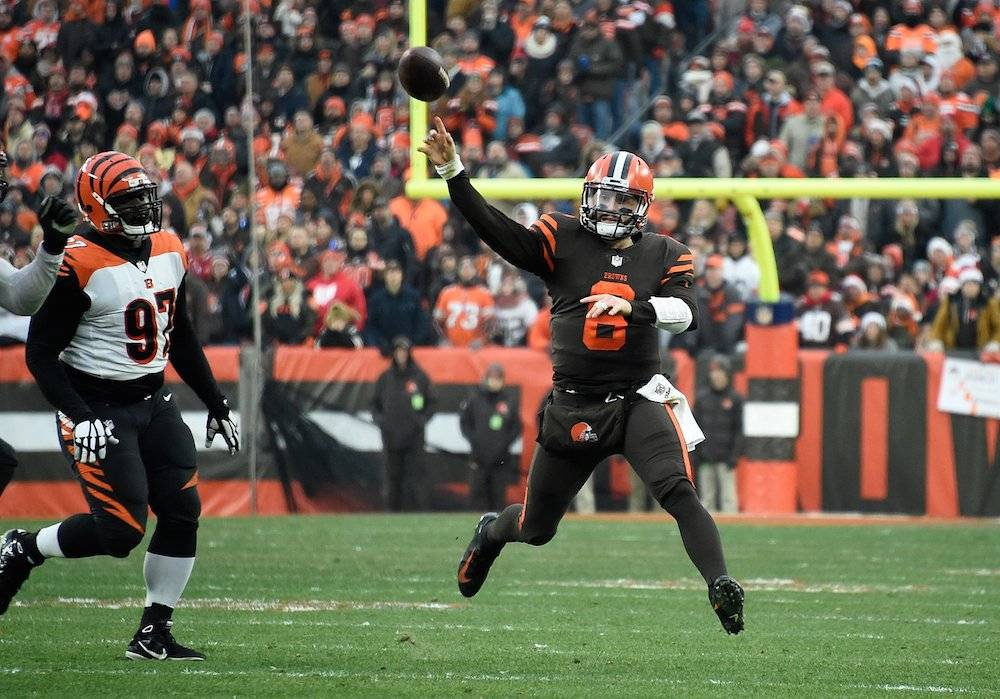 Bengals 18-26 Browns / Getty Images