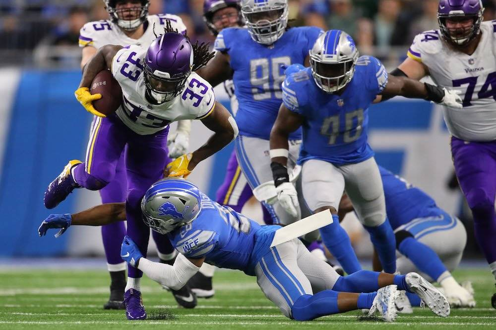 Vikings 27-9 Lions / Getty Images