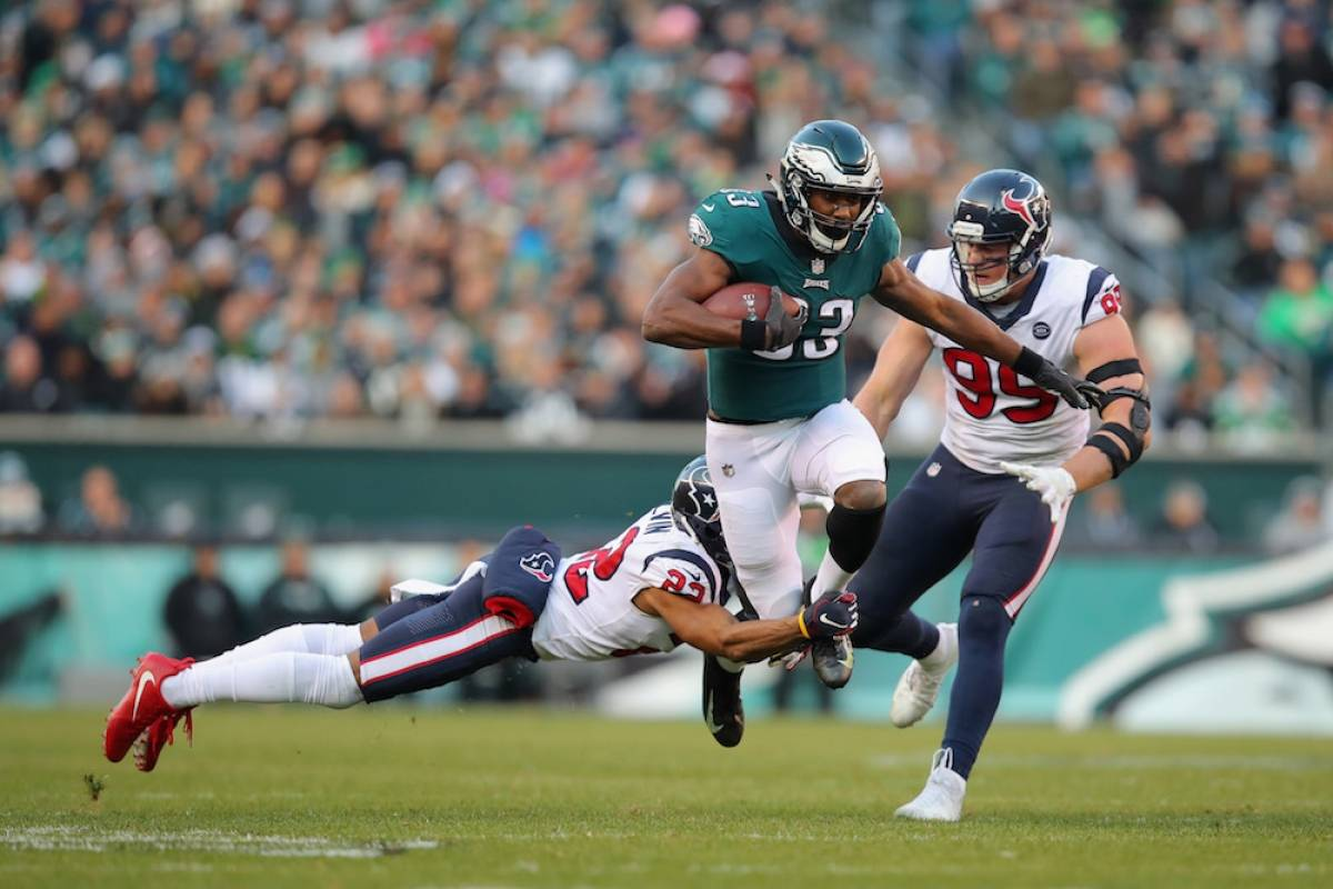 Texans 30-32 Eagles / Getty Images