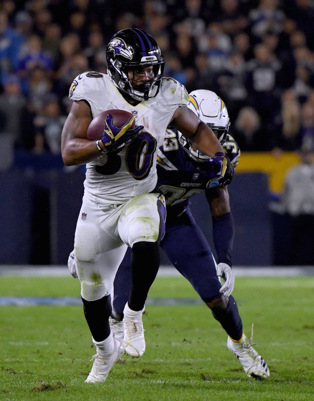 Ravens 22-10 Chargers / Getty Images