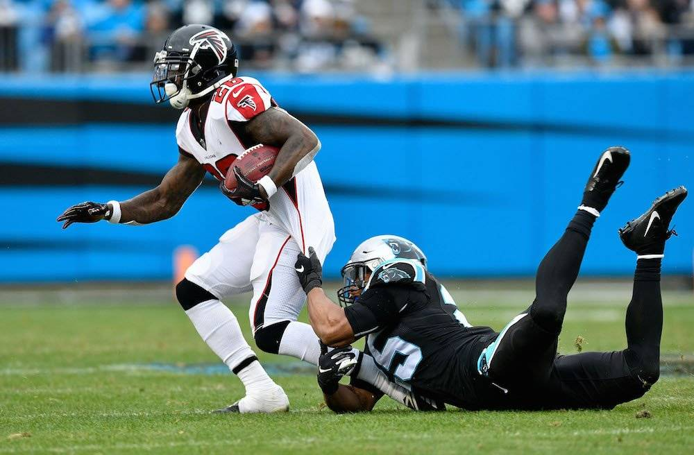 Falcons 24-10 Panthers / Getty Images