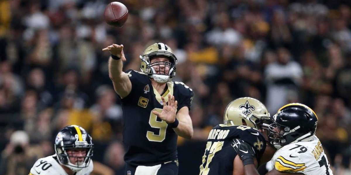 Saints superan a Steelers y aseguran cima de la Nacional