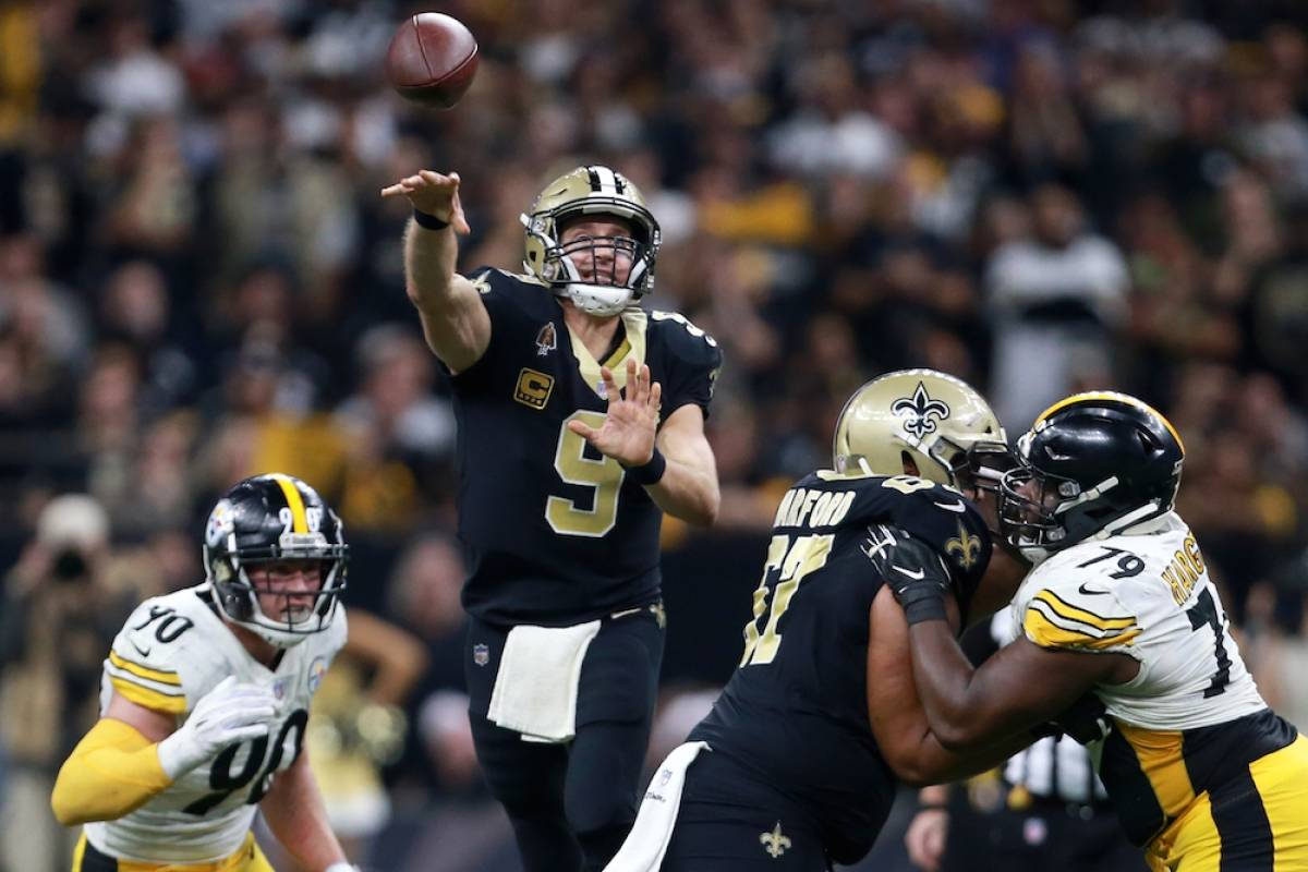 Steelers 28-31 Saints / Getty Images
