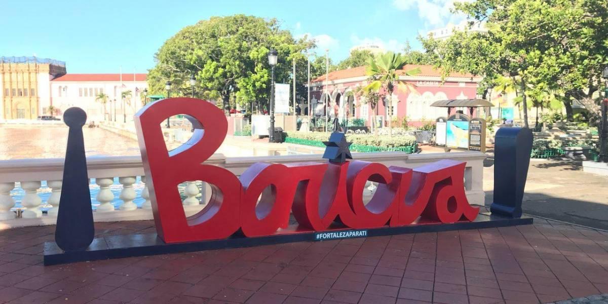 Colocan letras al estilo Nueva York en la bahía de San Juan y Cataño