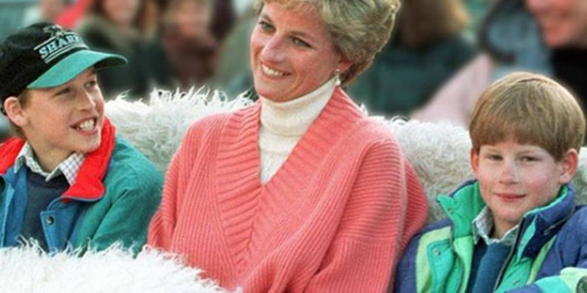 "El ""indebido"" regalo que la princesa Diana le daba a los príncipes Harry y William"