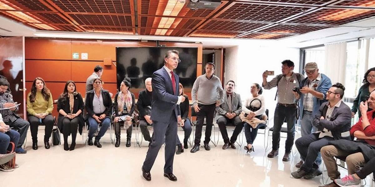 Sergio Mayer asegura que logró incrementar presupuesto de cultura en 500 mdp