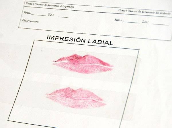 La forma, tamaño y surcos de los labios también son únicos, igual que una huella digital. Foto: UNAM