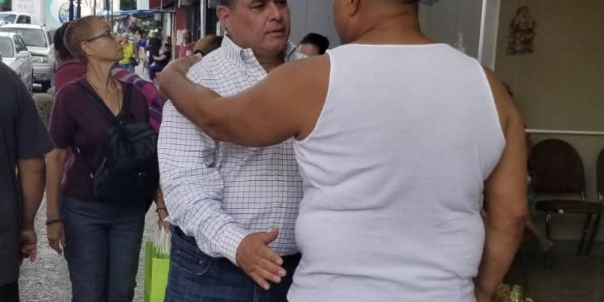 Santini dice que no dejará morir casco urbano de Río Piedras