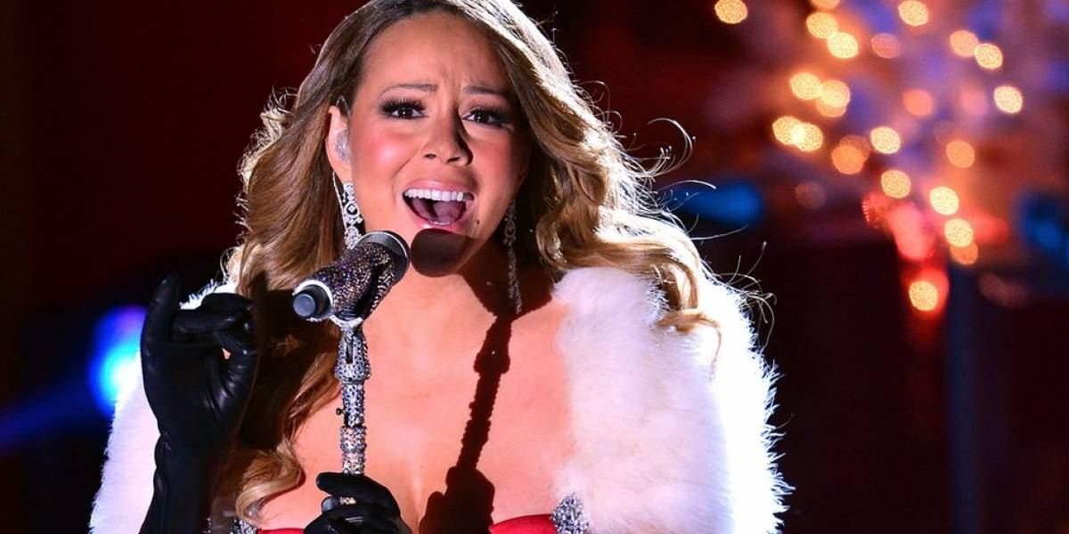 Se corona Mariah Carey como 'Reina de la Navidad'