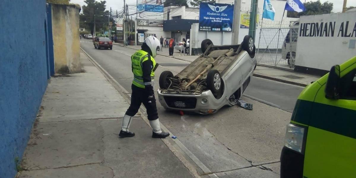 Reportan 20% menos accidentes en la capital durante fiestas de fin de año