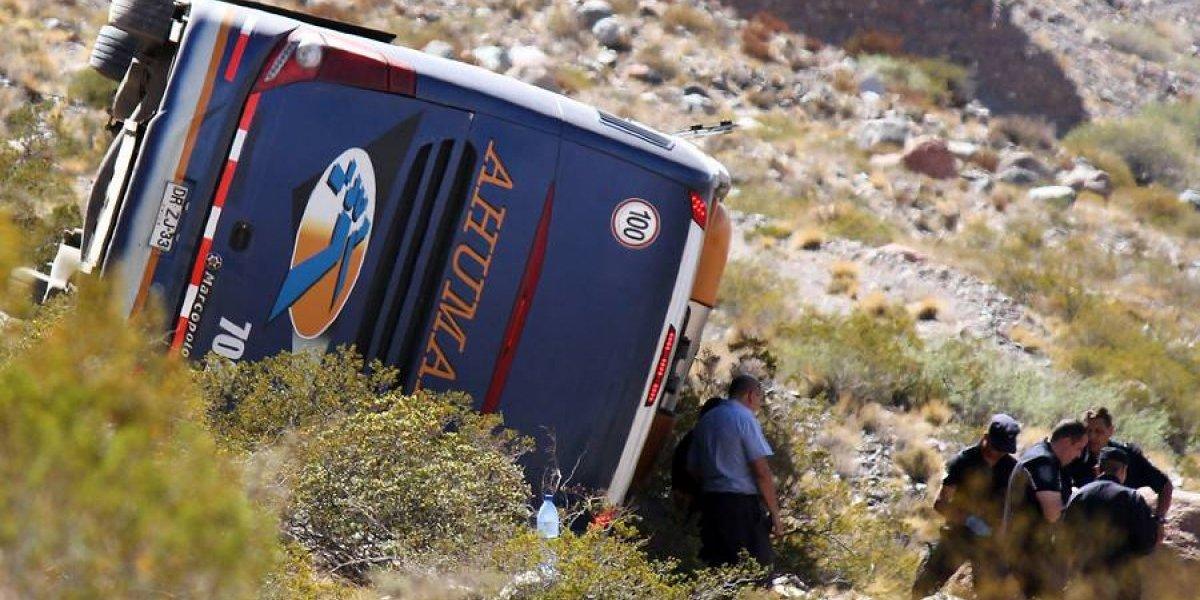 """Estudian formalizar a chofer del bus que volcó en Mendoza por """"homicidio culposo agravado"""""""