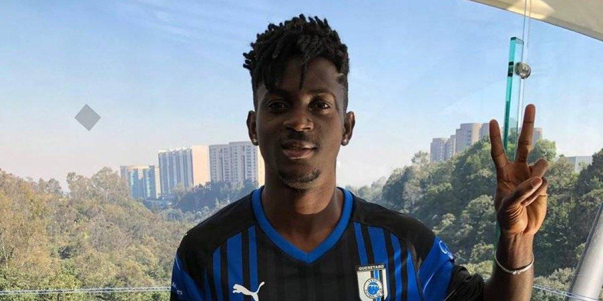 Gallos anuncia como refuerzo a un joven jugador africano; Aké Arnaud Loba