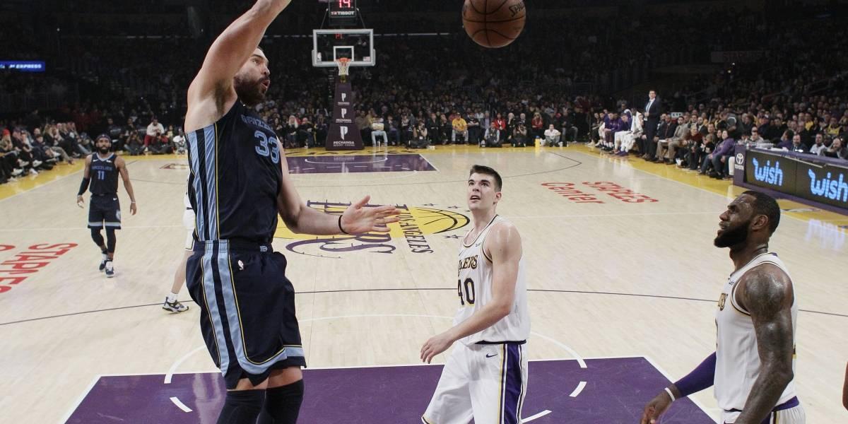 Detienen a los Lakers de Los Ángeles