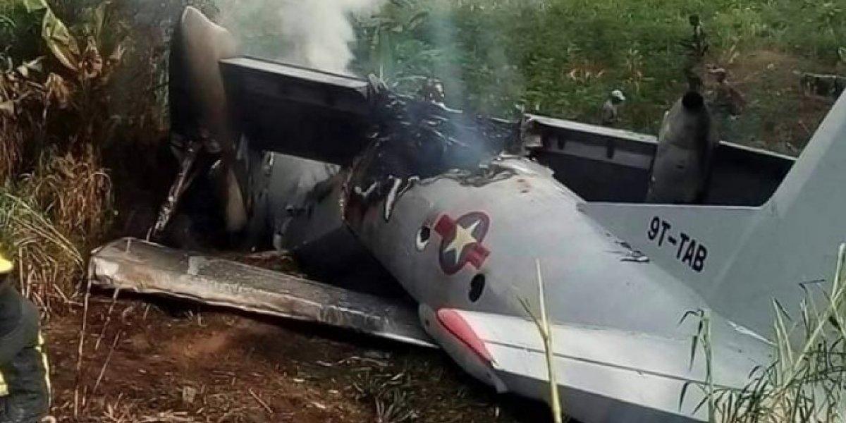 Avión militar se estrella en el Congo; hay al menos 38 heridos