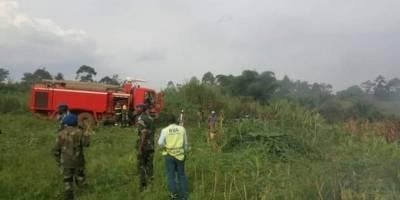 Avión militar se estrella en el Congo