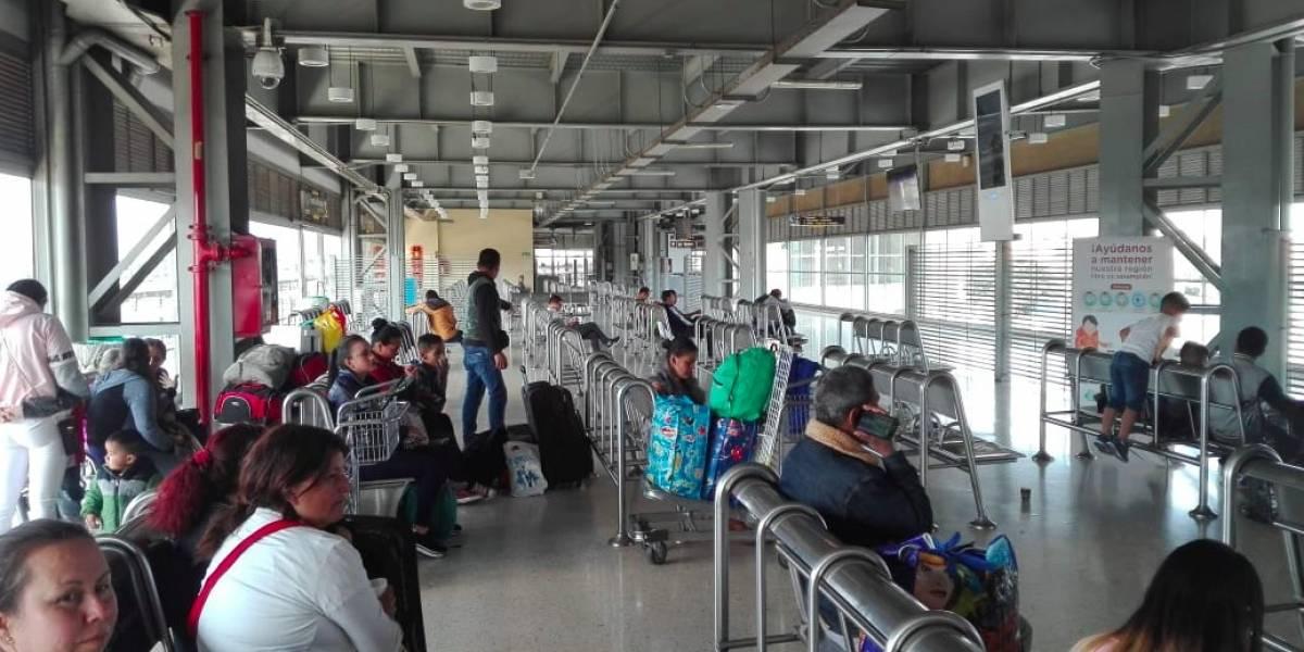 Reportan normalidad en la Terminal de Transportes antes del aislamiento