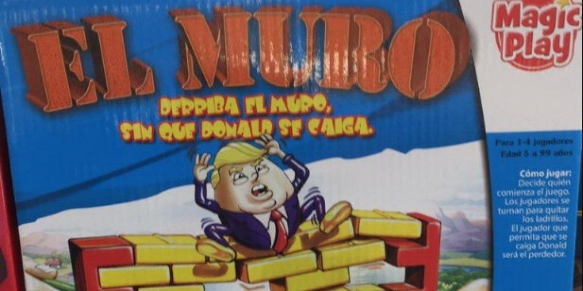 """""""Diseñado de este lado del muro"""": el controversial juego en el que tienes que botar a Trump sin que se caiga"""