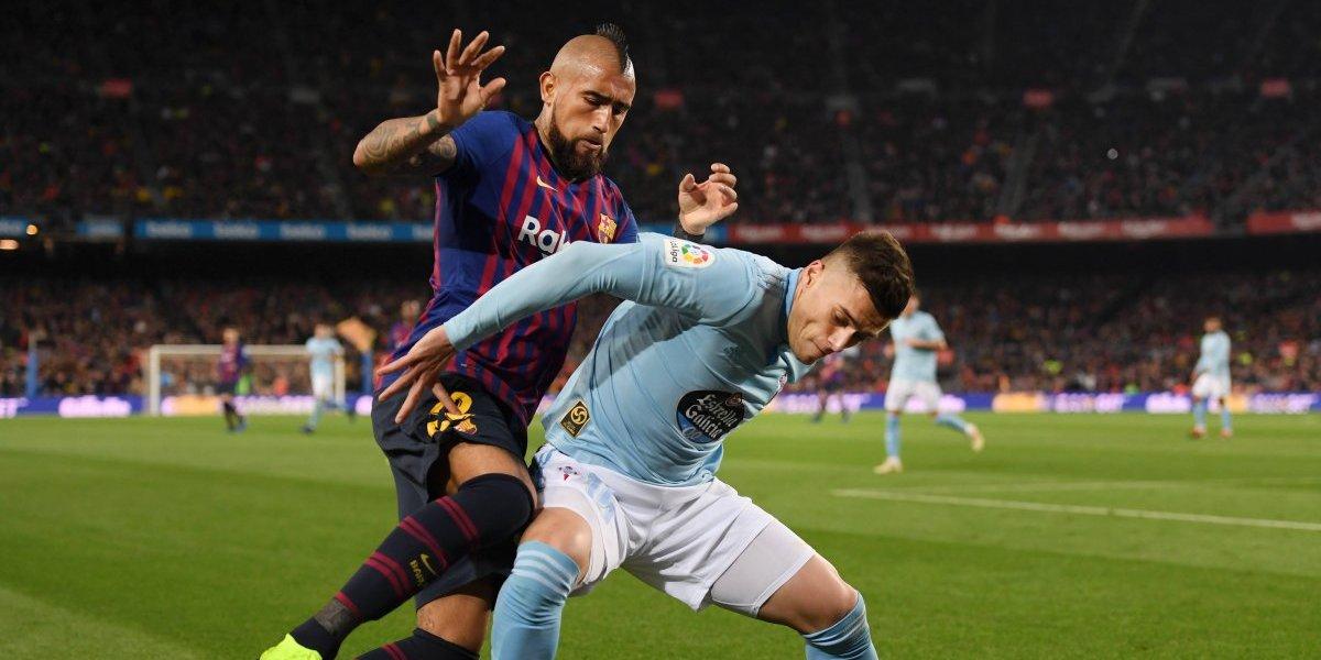 """""""Talismán de Valverde"""": Arturo Vidal no para de sumar elogios en Barcelona"""