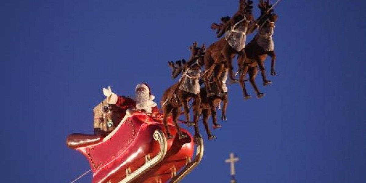 ¿Cuánto falta para abrir los regalos?: sigue en vivo el recorrido del Viejito Pascuero por el mundo