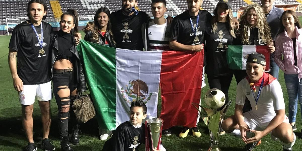El mexicano Aldo Magaña anotó el gol que le dio el campeonato al Herediano de Costa Rica