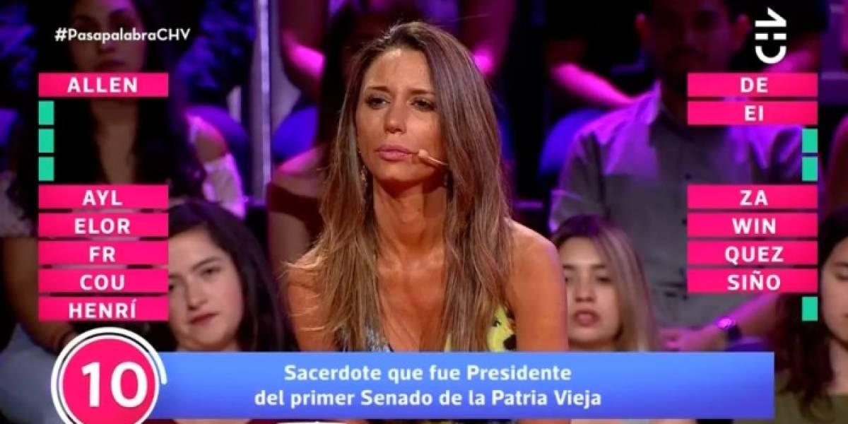 """¿El sacerdote Allende?: Tuiteros no tuvieron piedad con Carla Pinto tras insólita respuesta en """"Pasapalabra"""""""
