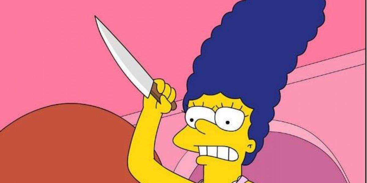 """""""Sé que me veo bien"""": Marge Simpson existe en la vida real y defiende su look ante sorprendidos pasajeros de bus en épico video viral"""