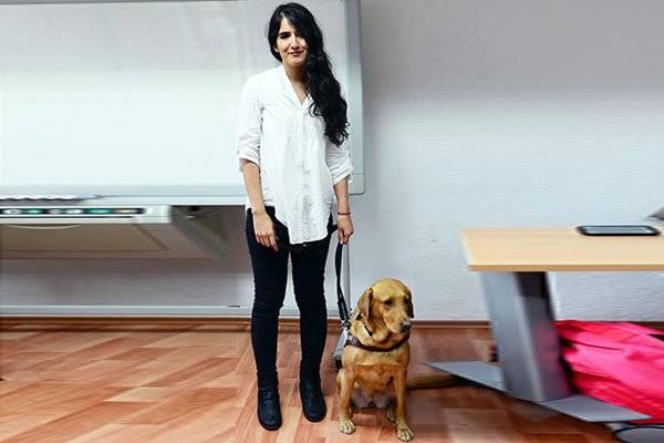 Yzma, parte fundamental para la titulación de Karla Escobar. Foto: UNAM