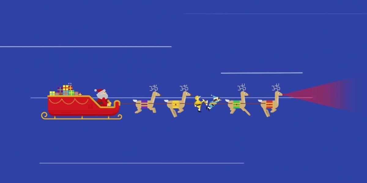 ¿Dónde está Santa Claus? Sigue su recorrido