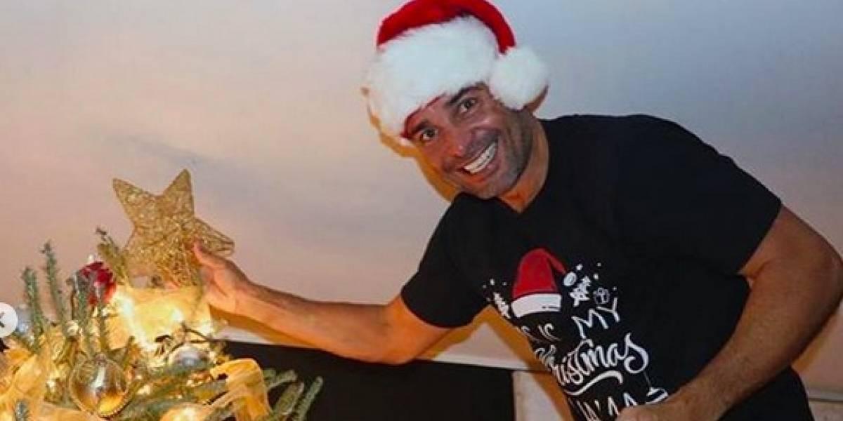 Chayanne envía mensaje de Navidad