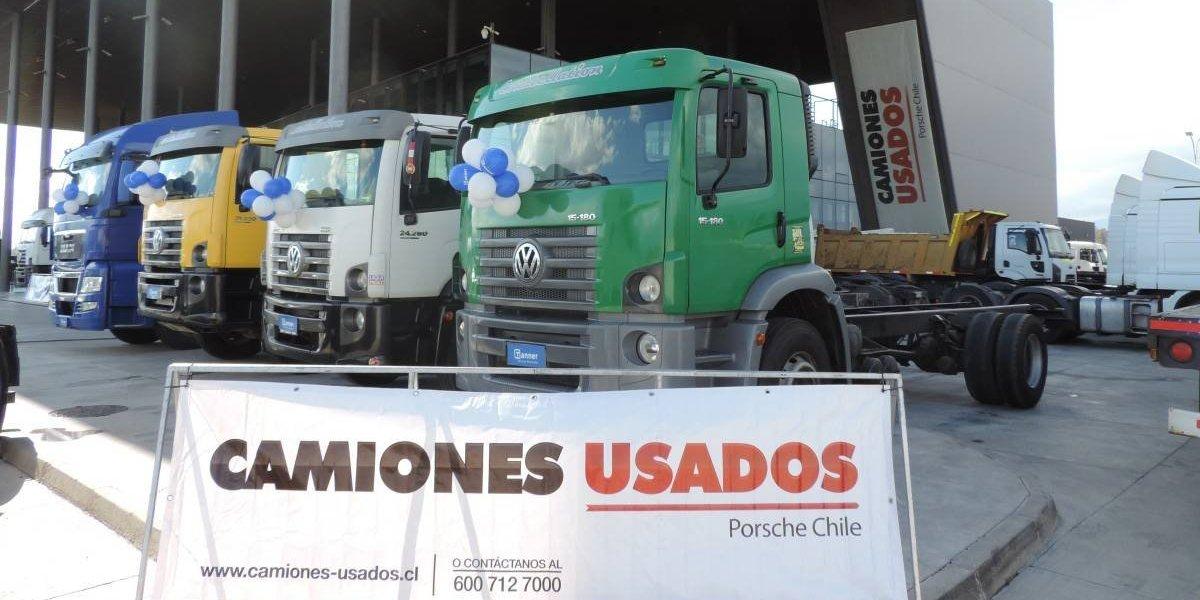 Porsche Chile celebra éxito de su división de camiones usados