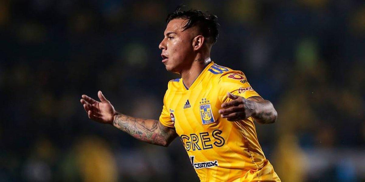 Eduardo Vargas, con pocas posibilidades de salir de Tigres UANL
