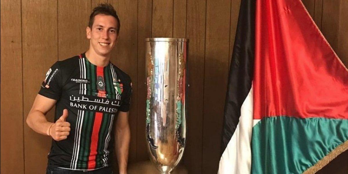 Palestino empieza a reforzar su plantel y oficializa a Ignacio González para la Libertadores