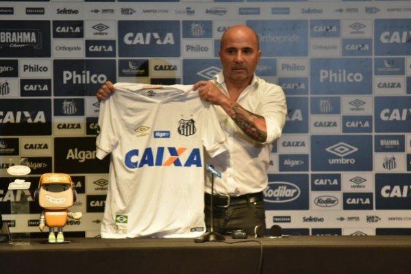 El técnico empieza con sus exigencias en el Peixe / imagen: Twitter Santos