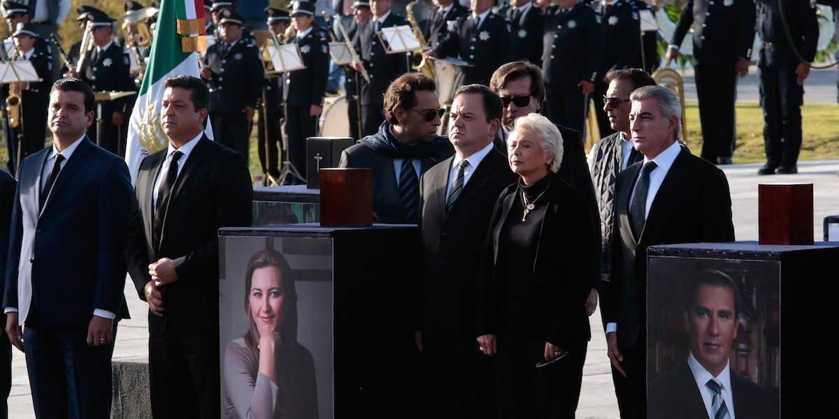 Decretan 3 días de luto en Puebla por muerte de Martha Erika Alonso