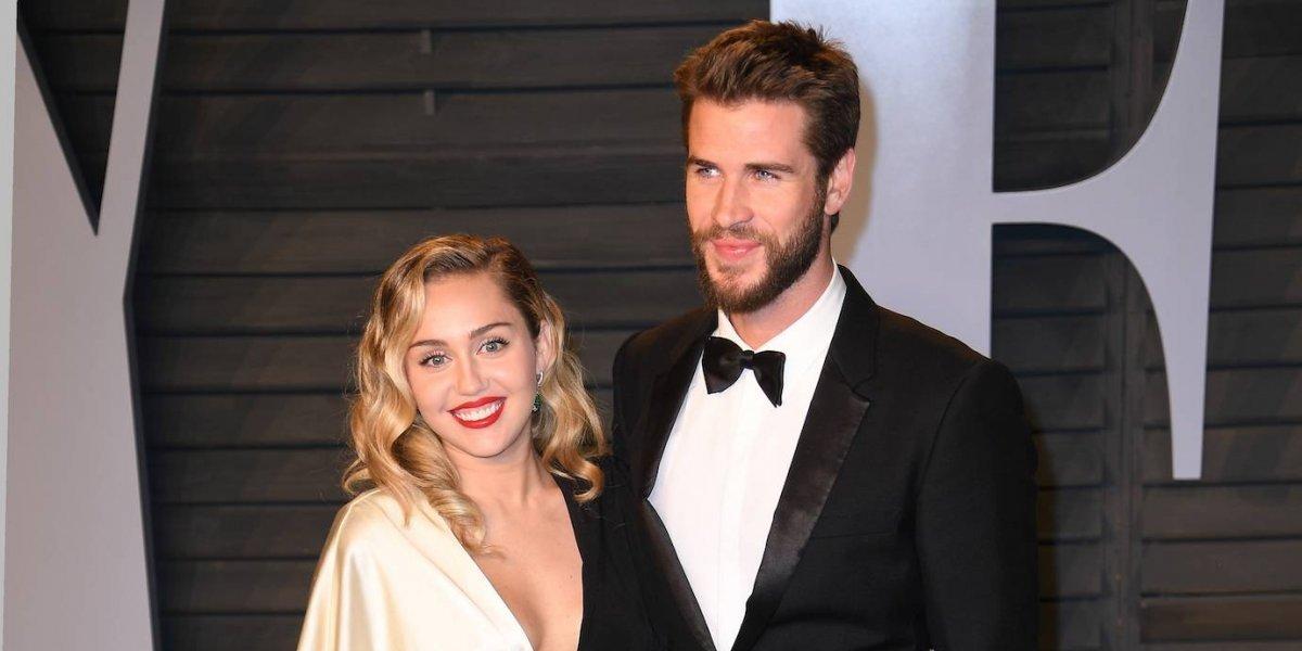 ¿Liam Hemsworth y Miley Cyrus se casan en secreto?