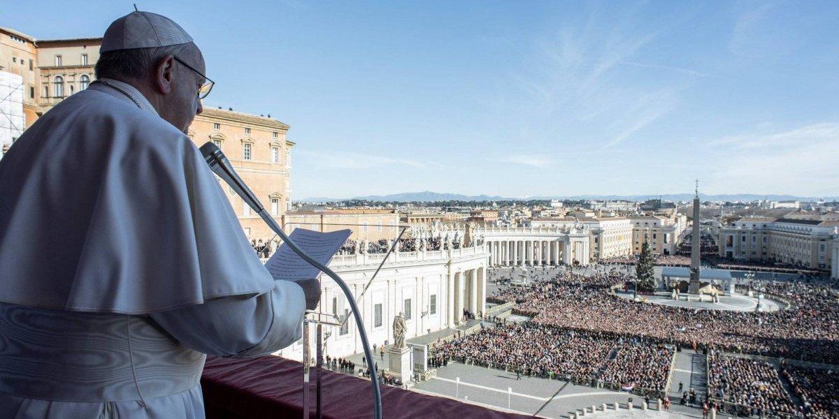 Em benção de Natal, Papa pede fraternidade