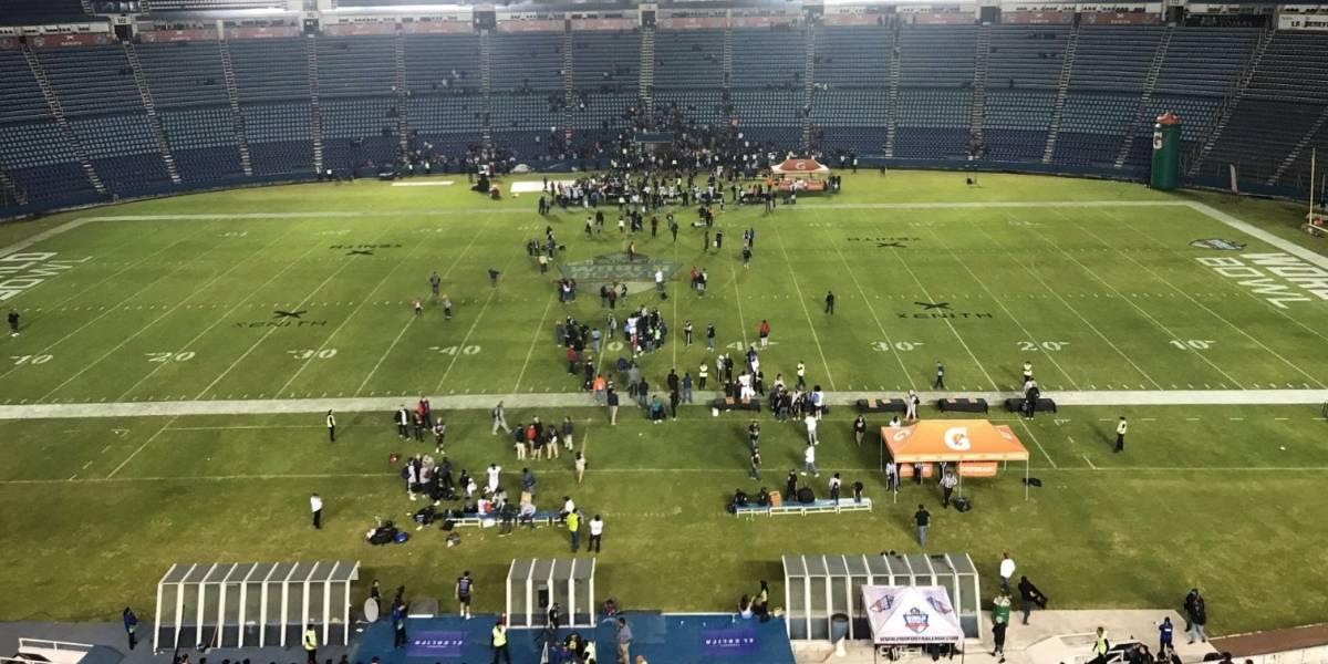 Estadio Azul se encuentra en pésimas condiciones