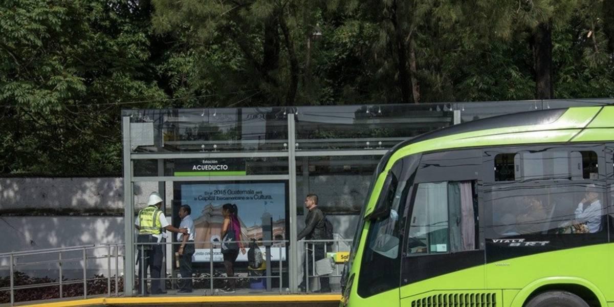 Servicio de Transmetro opera con cambios por actividades de Independencia
