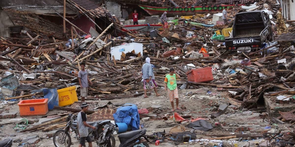 Tsunami en Indonesia: número de fallecidos aumenta a 429 y hay al menos 128 desaparecidos
