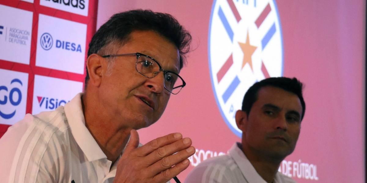 La Selección Mexicana se enfrentará a Osorio y Paraguay en marzo