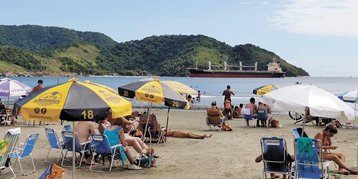 Onze praias do litoral de São Paulo estão impróprias para banho