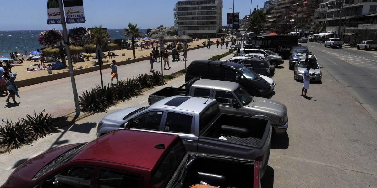 Viña del Mar: El conflicto que tiene a los estacionamientos playeros sin parquímetros