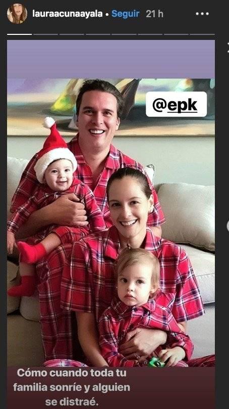 Captura de pantalla Instagram Laura Acuña