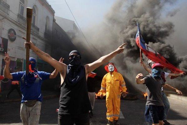 Protestas trabajadores portuarios