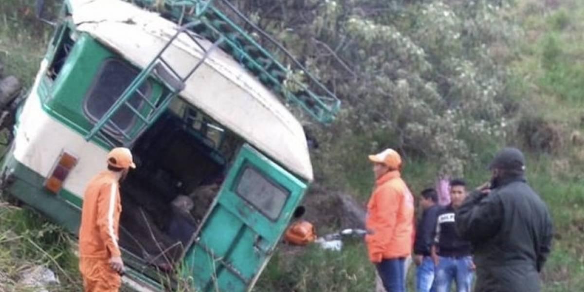 #Atención: grave accidente en Boyacá dejó siete personas muertas y 12 heridos