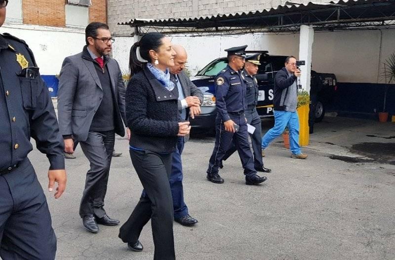 La Jefa de Gobierno visitó Iztacalco. Cortesía.