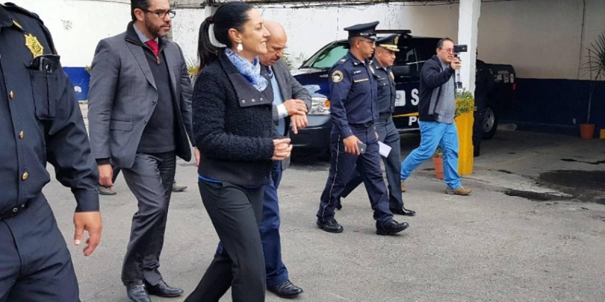 Rehabilitación de sectores policiacos se hará de inmediato: Sheinbaum
