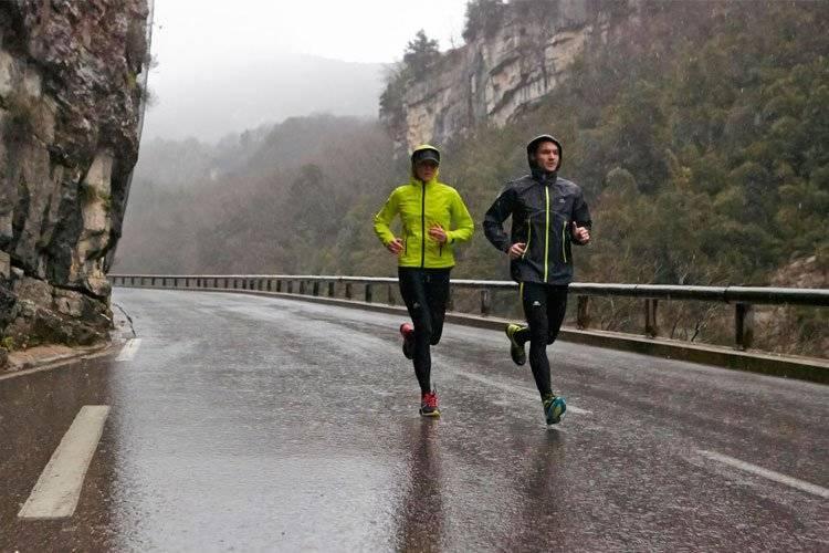 Correr con frío