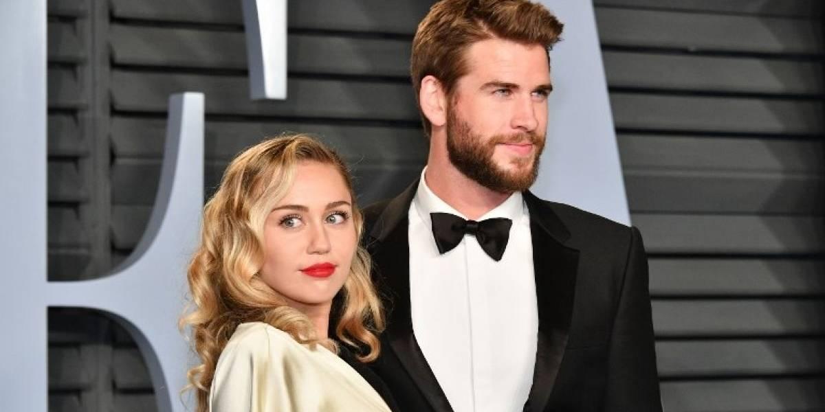 Miley Cyrus y Liam Hemsworth se casaron y compartieron las imágenes de su boda